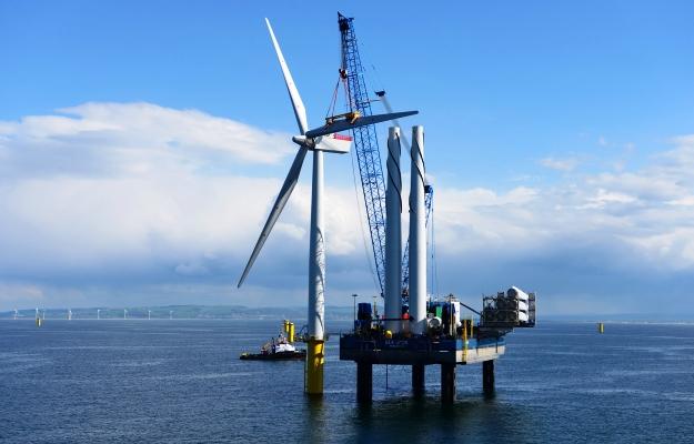 eolico in Gran Bretagna | il parco offshore di Gwynt-y-Mor