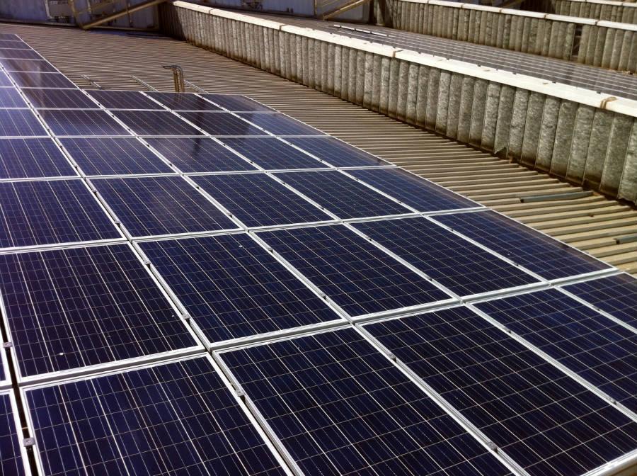 Impianto fotovoltaico AGC Roccasecca   struttura di ancoraggio, Frosinone, Lazio
