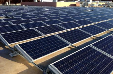 Copertura capannoni fotovoltaico tetto solare a falda evonat for Piani tetto shed