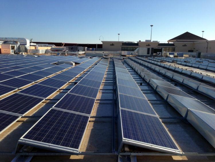 Copertura solare Auchan Casamassima Bari | tetto piano fotovoltaico Puglia