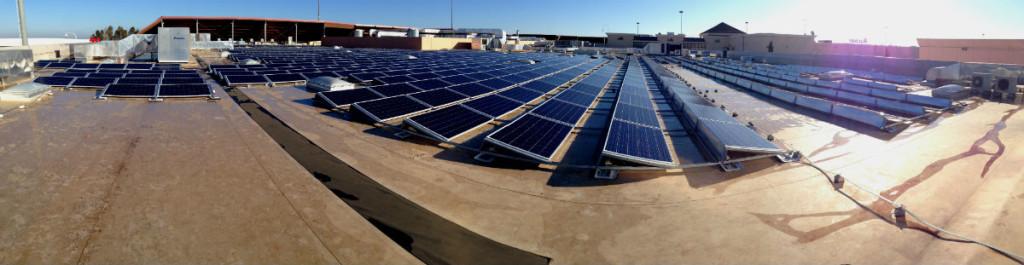 Impianto fotovoltaico | centro commerciale Auchan Casamassima Bari, Puglia