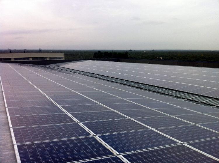 Copertura capannoni Molfetta | solare fotovoltaico Puglia