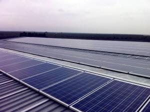 Copertura capannoni industriali | tetto a falda fotovoltaico Molfetta, Puglia