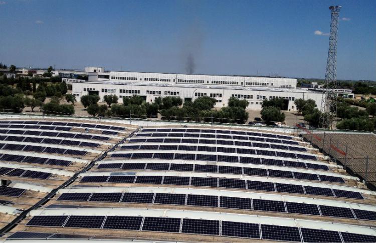 Coperture lastrico solare | stabilimento Filanto Casarano LE Puglia
