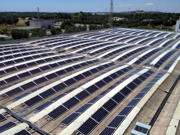 Coperture lastrico solare | stabilimento Filanto di Casarano (LE) Puglia