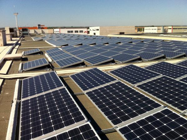 Dai Optical | Fotovoltaico tetto piano struttura