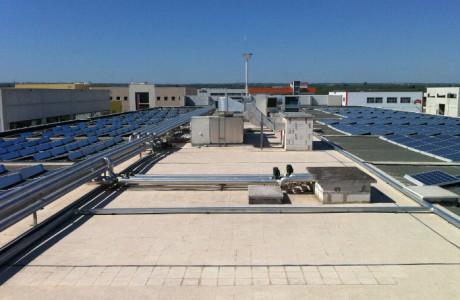 Impianti realizzati evonat for Piani tetto shed