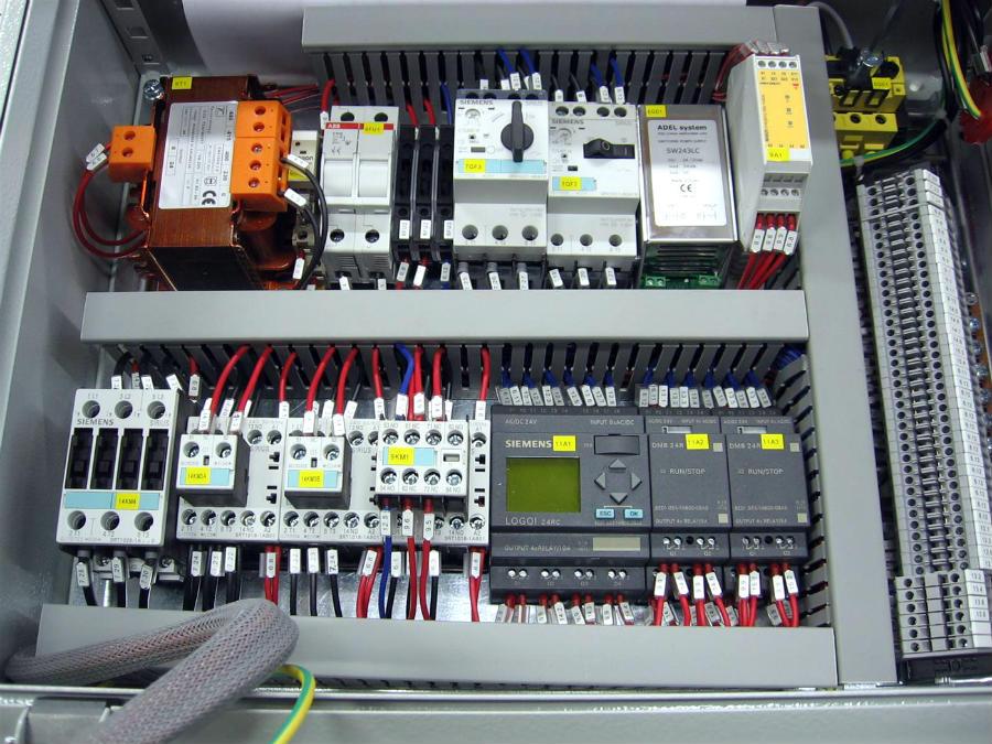 Impianti elettrici | quadro automazione impianto elettrico