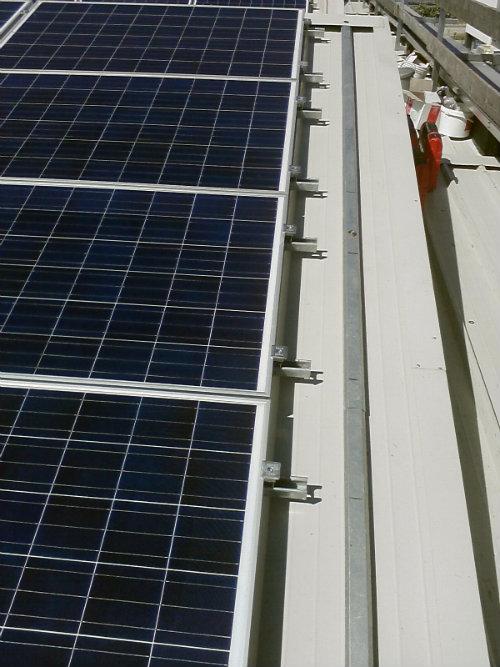Puma Conserve | impianto fotovoltaico tetto a shed struttura tipo omega