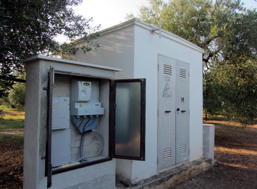 Turbina minieolica 60 kW per azienda agricola Corato, Puglia | centralina
