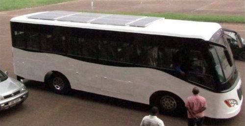 Kayoola | autobus elettrico a energia solare made in Africa