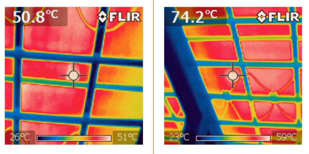 hot spot fotovoltaico