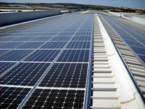 Impianto fotovoltaico capannone aziendale