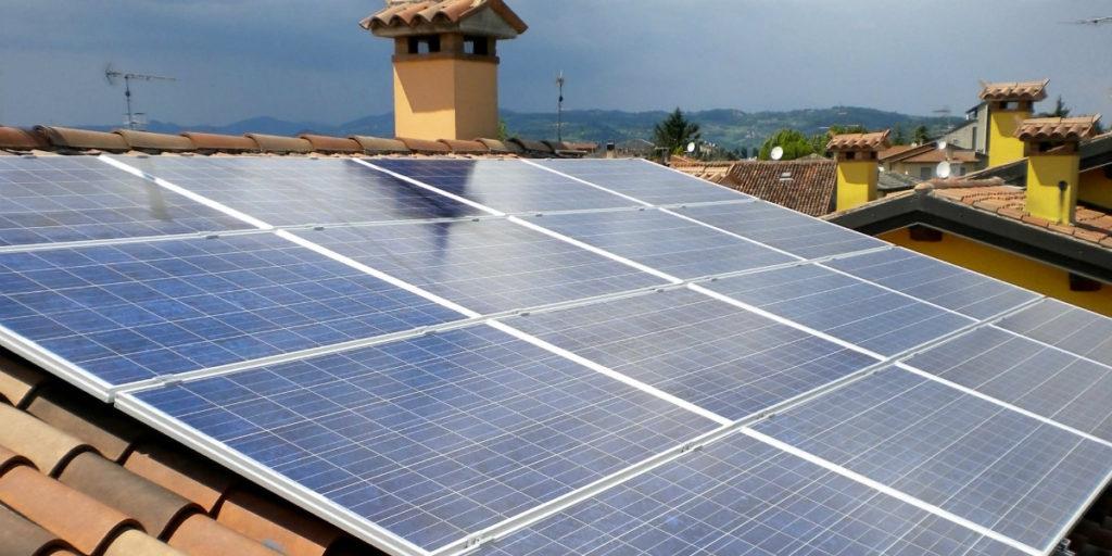 impianto fotovoltaico a tetto domestico privato