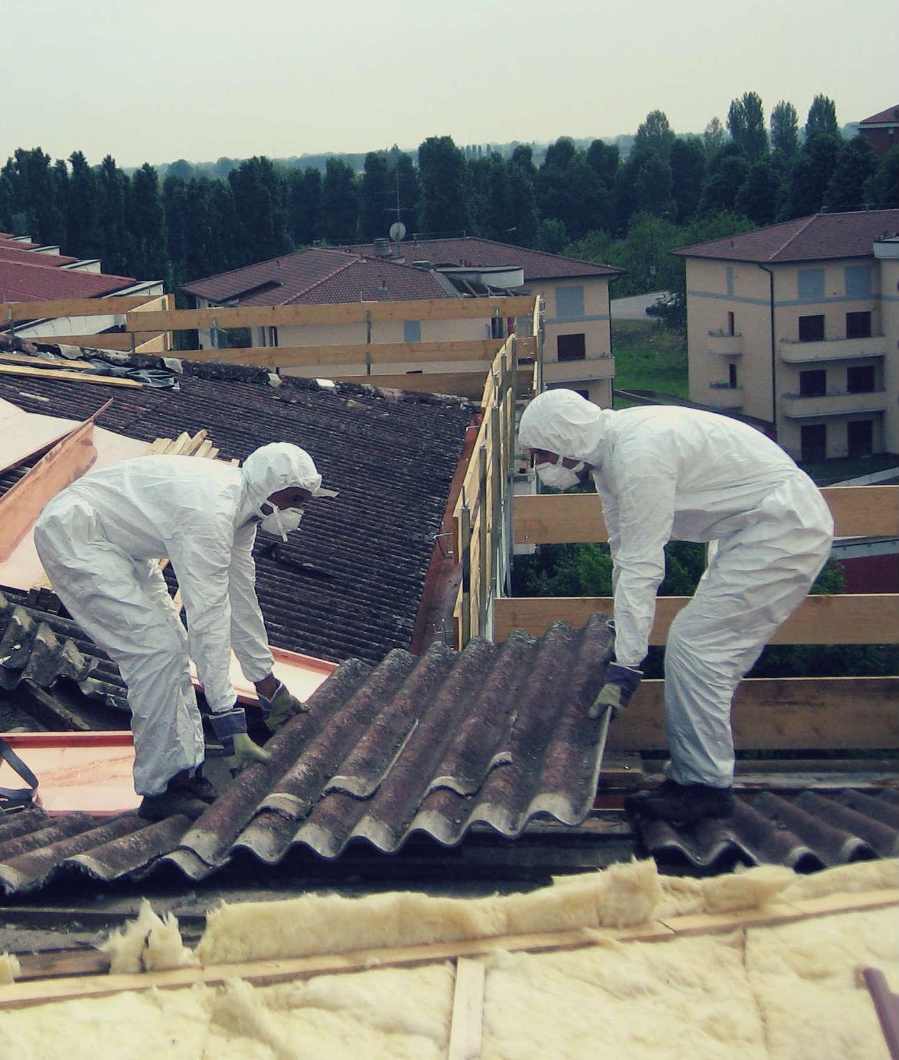 Rimozione amianto dai tetti e sostituzione con fotovoltaico